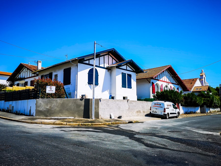 Rénovation d'un muret